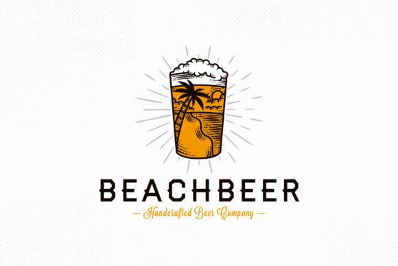 Fresh Beer Summer Logo Template Graphic Logos By vectorwithin
