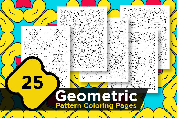 Print on Demand: Geometric Digital Pattern Pages Graphic Coloring Pages & Books Adults By Riduwan Molla