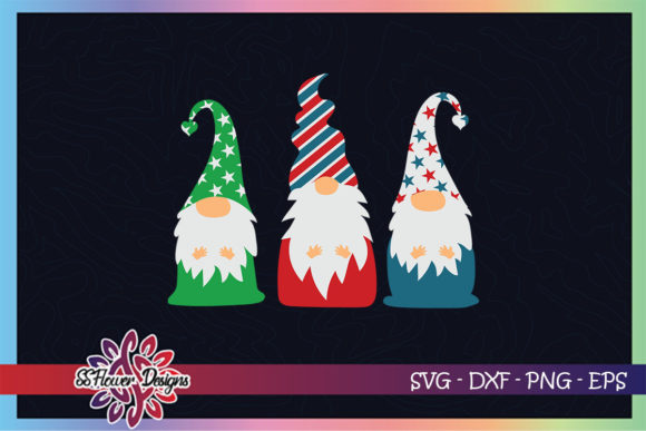 Gnome Xmas Christmas Gnomes Graphic Print Templates By ssflower