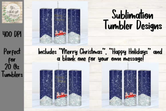 Print on Demand: Holiday Sublimation Tumbler Designs Graphic Print Templates By You Make It Personal
