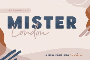 Print on Demand: Mister London Script & Handwritten Font By saridezra