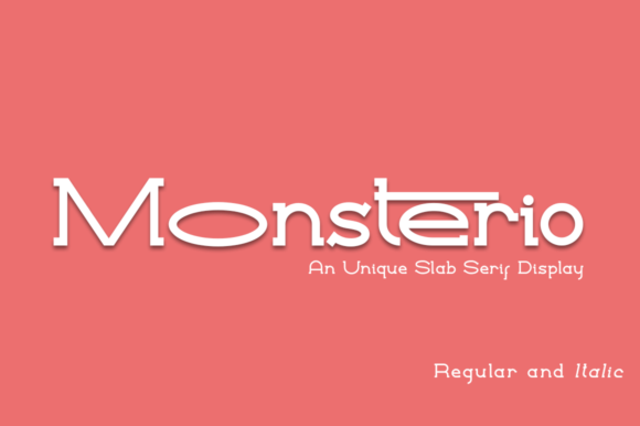 Print on Demand: Monsterio Serif Font By Haksen