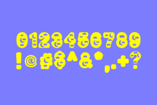 Print on Demand: Moon Decorative Font By Infontree 4
