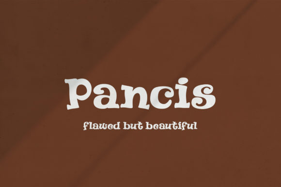 Print on Demand: Pancis Display Font By Nico Muslib