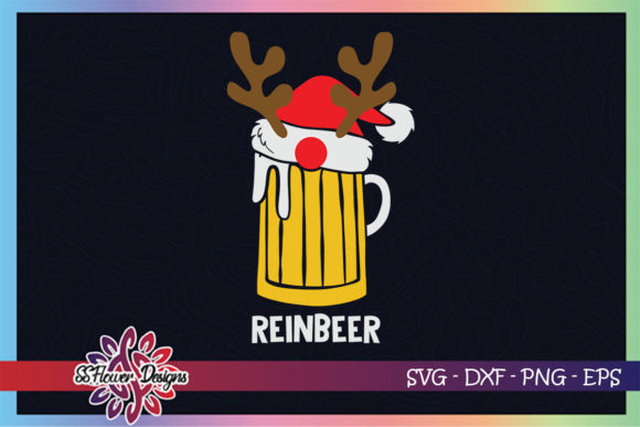 Reinbeer Christmas Rudolph Graphic Print Templates By ssflower