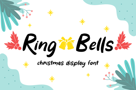 Print on Demand: Ring Bells Display Font By attypestudio