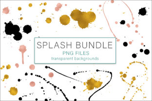 Print on Demand: Splash Bundle Graphic Objects By AS Digitale