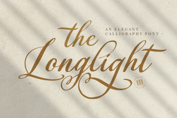 Print on Demand: The Longlight Script & Handwritten Font By colllabstudio