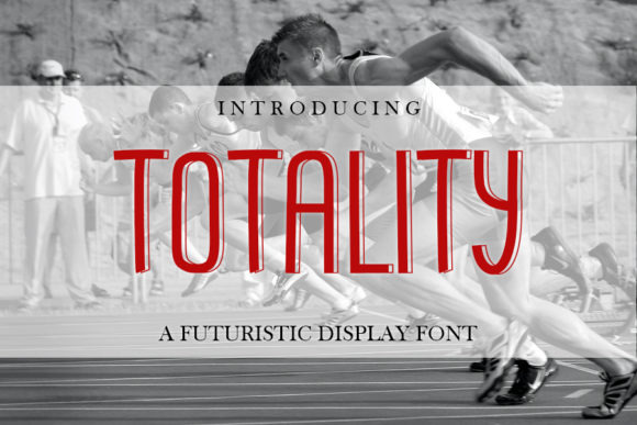 Print on Demand: Totality Display Font By mizanstudio