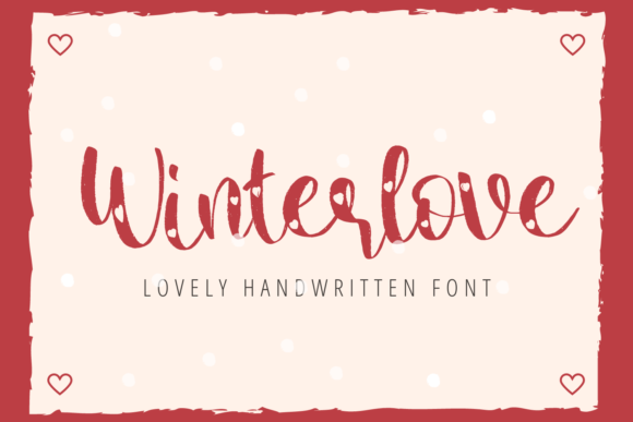 Print on Demand: Winterlove Display Font By Al Ghul