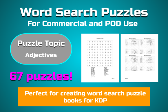67 Word Search Puzzles Graphic KDP Interiors By Take It And Teach