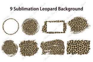9 Sublimation Leopard Background Graphic Crafts By MidasStudio
