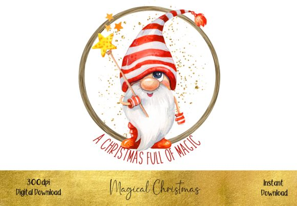 A Magical Christmas Graphic Illustrations By STBB