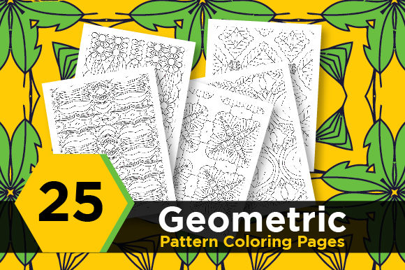 Print on Demand: Abstract Seamless Pattern Design Graphic Coloring Pages & Books Adults By Riduwan Molla