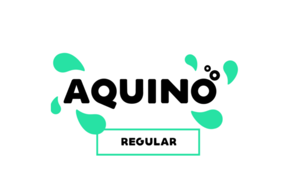 Print on Demand: Aquino Display Font By Shaped Fonts