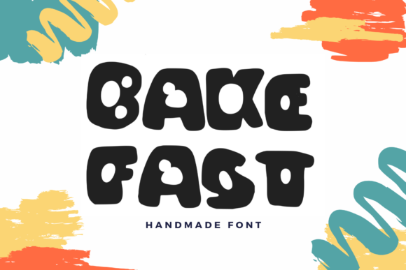 Print on Demand: Bake Fast Display Font By lunarctic