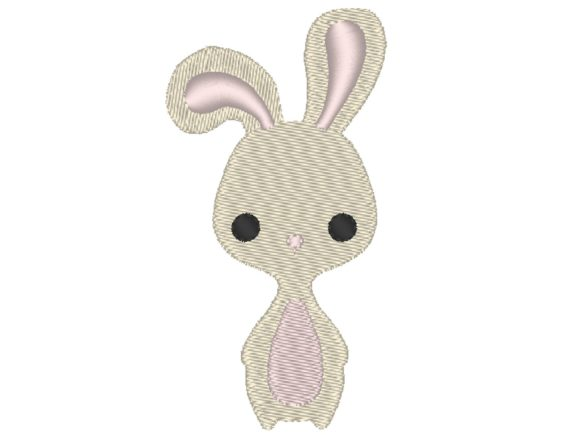 Bunny Cutie Baby Animals Embroidery Design By carasembor