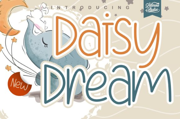 Print on Demand: Daisy Dream Script & Handwritten Font By letterenastudios