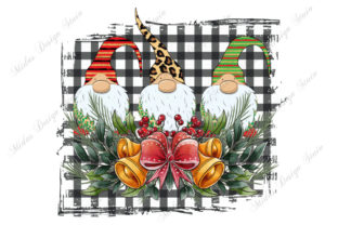 Family Gnomes Christmas Graphic Crafts By MidasStudio