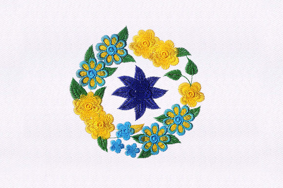 Flowers Collection Design Single Flowers & Plants Embroidery Design By DigitEMB