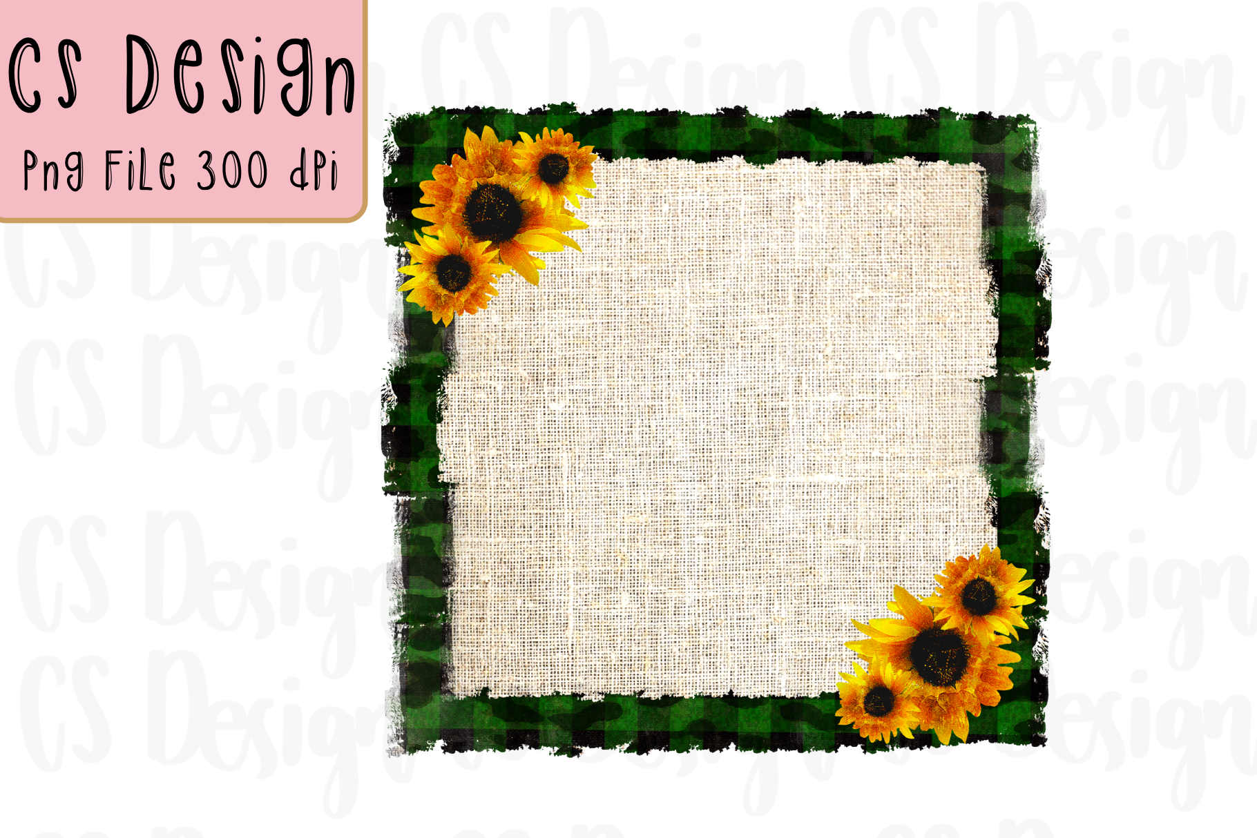 Download Frame Sublimation Sunflower Background Graphic By Csdesign Creative Fabrica