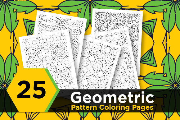 Print on Demand: KDP Abstract Pattern Graphic Coloring Pages & Books Adults By Riduwan Molla