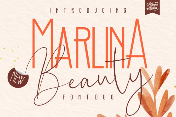 Print on Demand: Marlina Beauty Script & Handwritten Font By letterenastudios