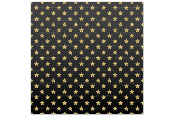 Print on Demand: Medium Stars Glitter Gradient BG #1 Graphic Backgrounds By SmartVectorDesign