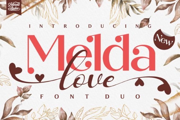 Print on Demand: Melda Love Script & Handwritten Font By letterenastudios
