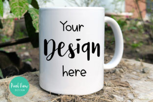 Print on Demand: Mug Mock-up Graphic Product Mockups By Pixel View Design