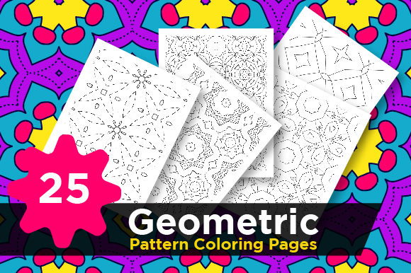 Print on Demand: Pattern Coloring Pages Vector Graphic Coloring Pages & Books Adults By Riduwan Molla