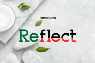 Print on Demand: Reflection Slab Serif Font By da_only_aan
