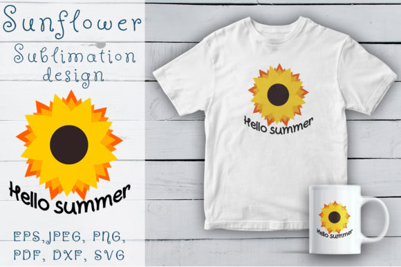 Print on Demand: Hello Summer! Graphic Illustrations By OK-Design