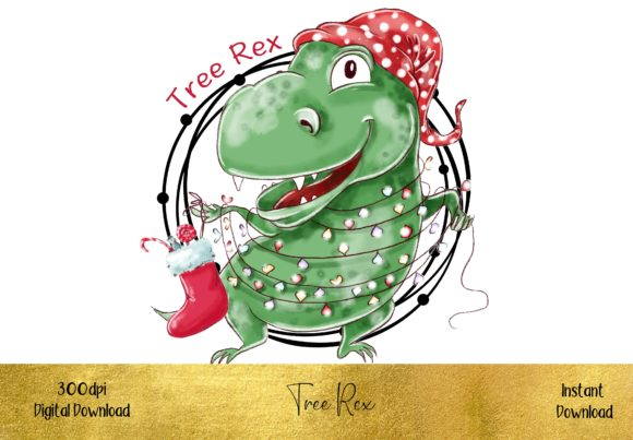Tree Rex Graphic Illustrations By STBB