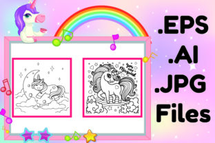 Print on Demand: Unicorn Activity Book for Kids Kdp Gráfico Páginas KDP Por KDP_Interior_101