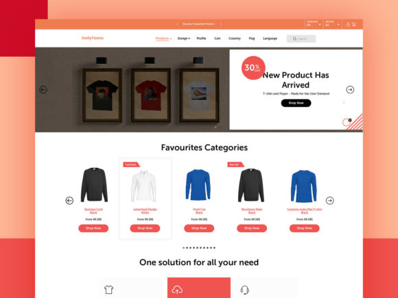WooCommerce UI KIT Graphic UX and UI Kits By artgalaxy