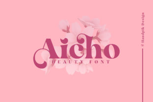 Print on Demand: Aicho Serif Font By handpik