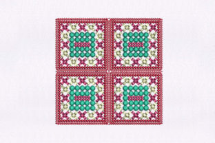 Boxes Quilting Design Bedroom Embroidery Design By DigitEMB