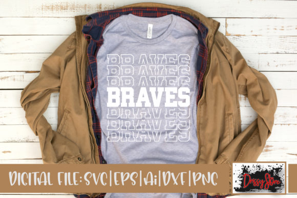 Braves Graphic Crafts By DrissyStore
