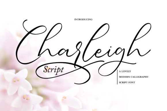 Print on Demand: Charleigh Script & Handwritten Font By Vunira