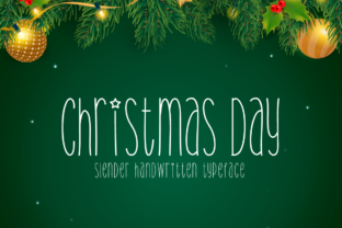 Print on Demand: Christmas Day Script & Handwritten Font By Seemly Fonts
