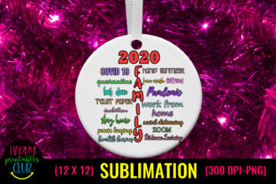 Christmas Sublimation Pandemic - 2020 Graphic Crafts By Happy Printables Club