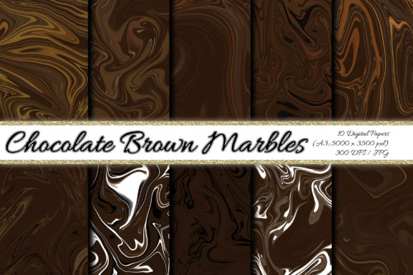 Digital Paper Chocolate Brown Background Graphic Backgrounds By PrisonerRabbit