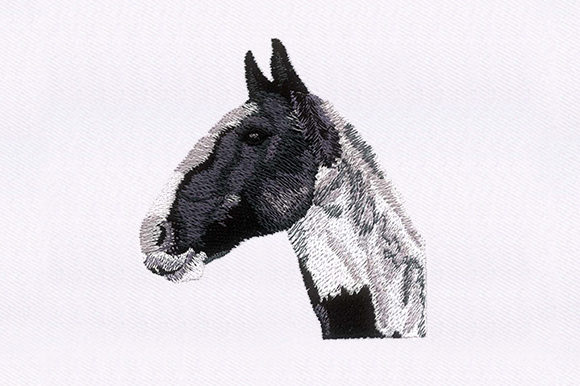 Horse Portrait Design Horses Embroidery Design By DigitEMB