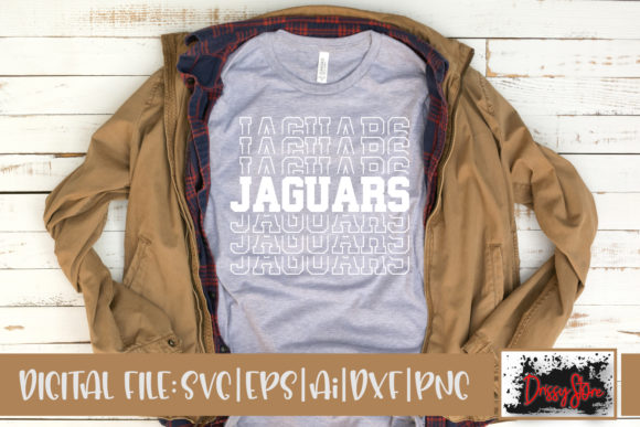 Jaguars Graphic Crafts By DrissyStore