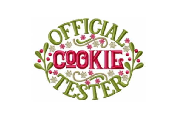 Official Cookie Tester Embroidery