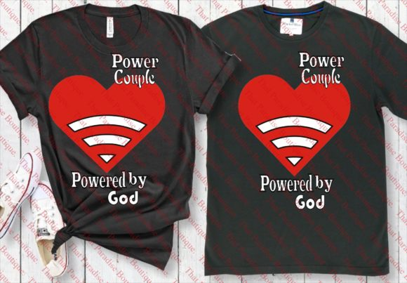 Print on Demand: Powered by God Graphic Print Templates By That Paradise Boutique