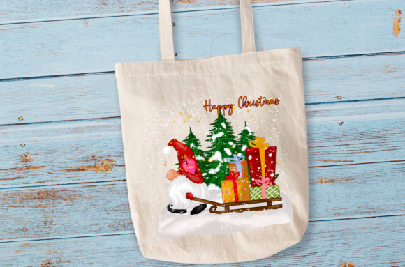 Cute Christmas Gnomes Gift Sublimation Graphic Item