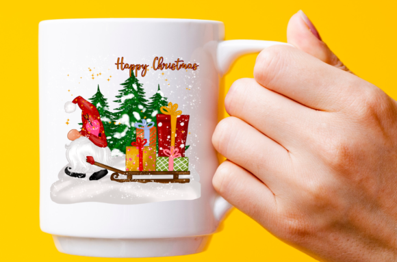 Cute Christmas Gnomes Gift Sublimation Graphic Design