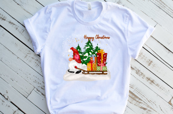 Cute Christmas Gnomes Gift Sublimation Graphic Preview